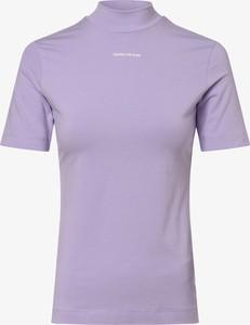 T-shirt Calvin Klein z golfem