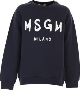 Bluza dziecięca MSGM z bawełny