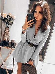 Sukienka magmac.pl w stylu casual mini kopertowa