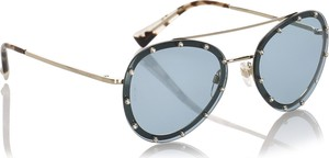 Zielone okulary damskie Valentino