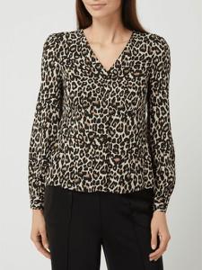 Bluzka Vero Moda z dekoltem w kształcie litery v w stylu casual z długim rękawem