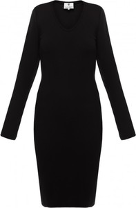 Sukienka Yuliya Babich mini z długim rękawem w stylu casual