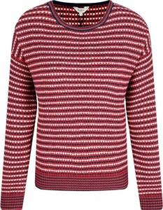 Czerwony sweter Pepe Jeans w stylu casual
