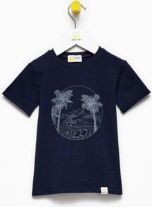 Niebieska koszulka dziecięca Banana Kids