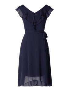 Sukienka DKNY midi z dekoltem w kształcie litery v