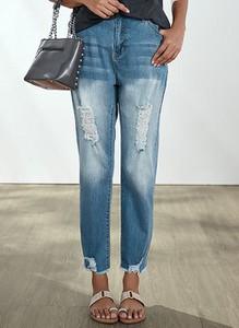 Jeansy Cikelly w stylu casual z jeansu