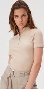 T-shirt Sinsay z golfem