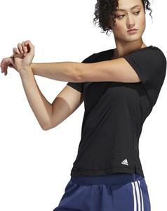 Bluzka Adidas z krótkim rękawem z okrągłym dekoltem