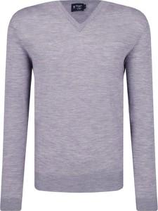 Sweter Hackett London w stylu casual z wełny