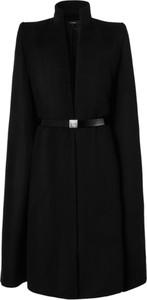 Czarny płaszcz męski Anoire z wełny