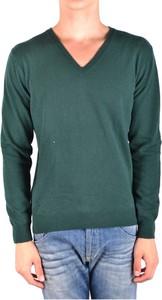 Zielony sweter Daniele Alessandrini w stylu casual