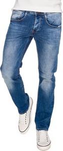 Niebieskie jeansy Guess z jeansu