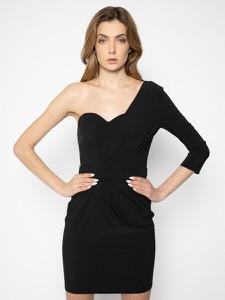 Sukienka Elisabetta Franchi z długim rękawem mini w stylu casual