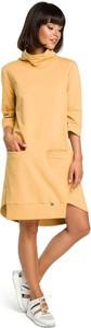 Żółta sukienka Be oversize