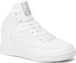Sneakersy Big Star z płaską podeszwą sznurowane