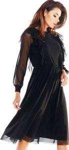 Sukienka Awama z tiulu