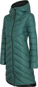 Zielona kurtka 4F długa