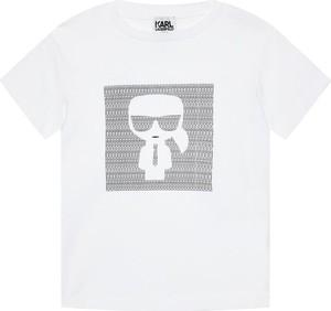 Koszulka dziecięca Karl Lagerfeld z krótkim rękawem dla chłopców