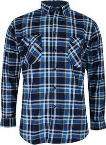 Granatowa koszula Formax w stylu casual