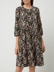 Sukienka Montego z długim rękawem w stylu casual mini