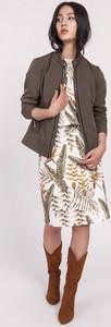 Kurtka Ptakmoda.com krótka w stylu casual