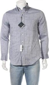 Niebieska koszula Brooks Brothers w stylu casual z długim rękawem