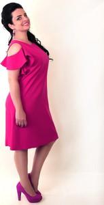 07910318e5 trapezowa sukienka na wesele - stylowo i modnie z Allani