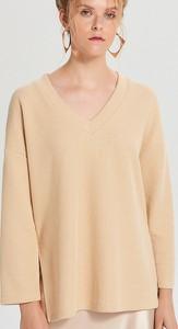 Żółta bluzka Cropp