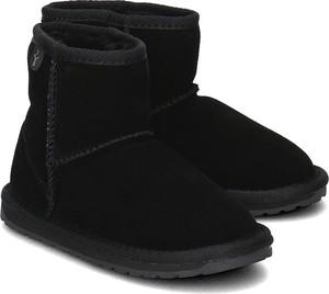 Buty dziecięce zimowe Emu Australia z zamszu