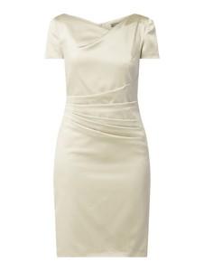 Sukienka Marie Noir z satyny mini