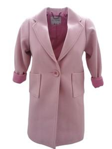 Różowy płaszcz dziecięcy Miss Guilty