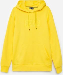 Żółta bluza Cropp w stylu casual