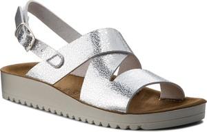 Sandały Grünland ze skóry ekologicznej w stylu casual
