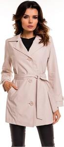 Różowy płaszcz Cabba z bawełny