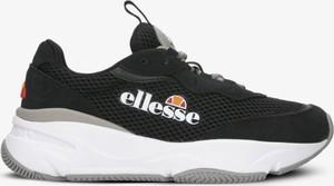 Czarne buty sportowe Ellesse sznurowane