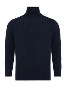 Sweter Hugo Boss ze stójką w stylu casual