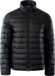 Czarna kurtka EA7 Emporio Armani w stylu casual