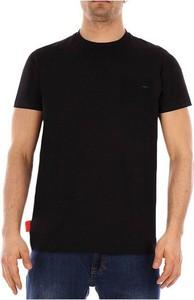 Czarny t-shirt Rrd