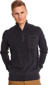 Sweter Top Secret z wełny w stylu casual