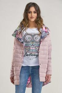 Różowa kurtka made2wear