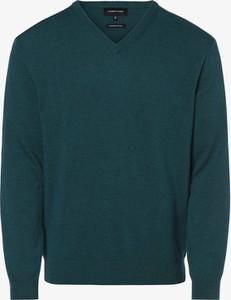 Niebieski sweter Andrew James z wełny
