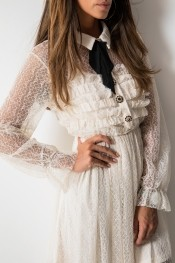Sukienka Fashion Manufacturer z długim rękawem