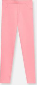 Różowe legginsy dziecięce Sinsay