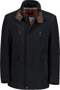 Czarna kurtka Lavard ze skóry ekologicznej