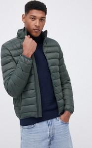 Zielona kurtka Solid krótka