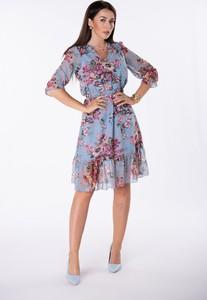 Niebieska sukienka Ptakmoda.com