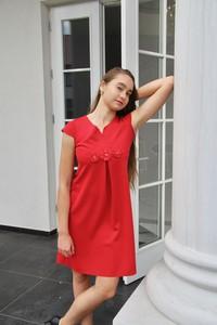 Sukienka Rokado z dekoltem w kształcie litery v mini