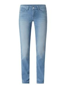 Niebieskie jeansy MAC z bawełny w stylu casual