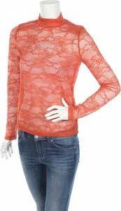 Pomarańczowa bluzka Soaked in Luxury z długim rękawem