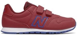 Czerwone buty sportowe dziecięce New Balance na rzepy